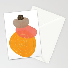 Modern minimal forms 32 Stationery Cards