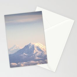 Mountain Peaks from Above Stationery Cards
