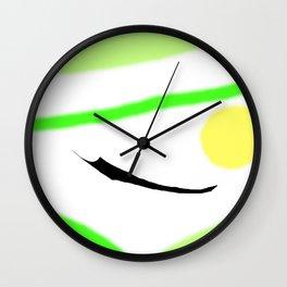 A Spring Morning         by Kay Lipton Wall Clock