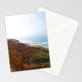Sand Stone and Ocean Stationery Cards