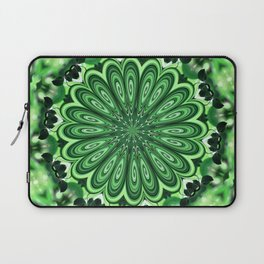 Mystery Green Puzzle Laptop Sleeve