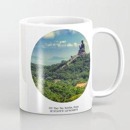 007: Tian Tan Buddha, China. Coffee Mug