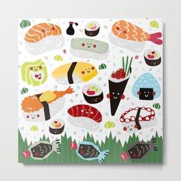Sushi galore Metal Print