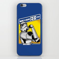 Stormtrooper: 'WE CAN PEW-PEW IT!' iPhone & iPod Skin