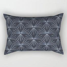SUN TILE DARK Rectangular Pillow