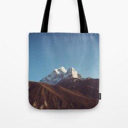 Himalayan mountains, Nepal Tote Bag
