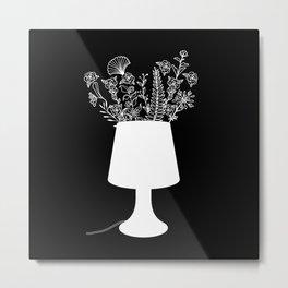 flower lamp Metal Print