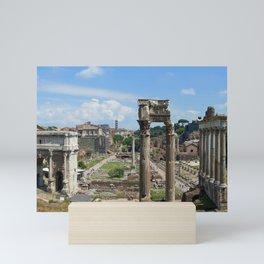 Roman Forum (Rome, Italy) Mini Art Print