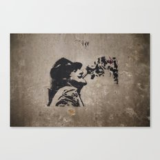 Graffiti #1 Canvas Print