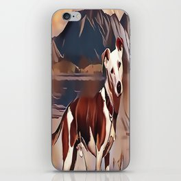 Hunting Dog by the Lake iPhone Skin
