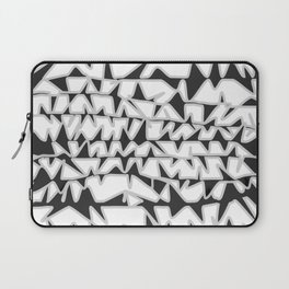 Abstract flying birds pattern Laptop Sleeve