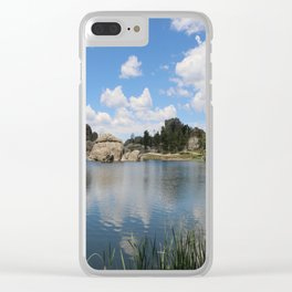 Sylvan Lake in the Black Hills Clear iPhone Case