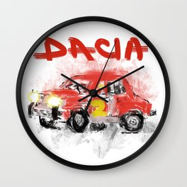 dacia 1300 Wall Clock