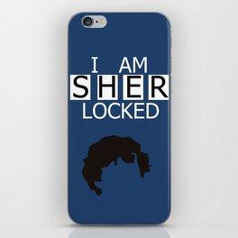 I am Sherlocked iPhone Skin