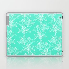 Lily Love in Mint Laptop & iPad Skin