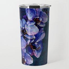 Orchids of the night Travel Mug