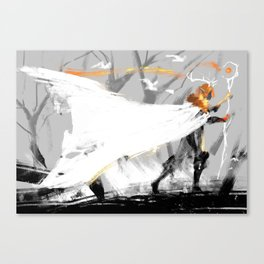Keyleth's wings Canvas Print