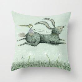 'Runaway' Throw Pillow