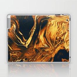 Gold Laptop & iPad Skin