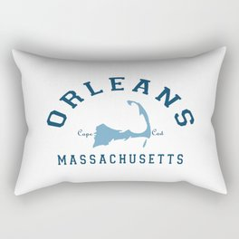 Orleans - Cape Cod. Rectangular Pillow