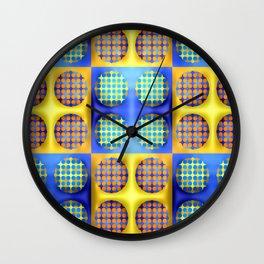 Many soft dots ... Wall Clock
