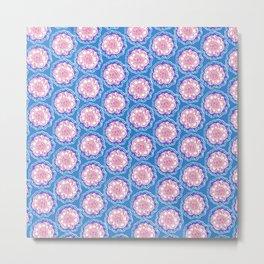 Lucy Floral Metal Print