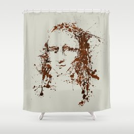 Modern Lisa Shower Curtain