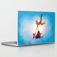 bioshock infinite Laptop & iPad Skins featuring Bioshock Infinite by anansass