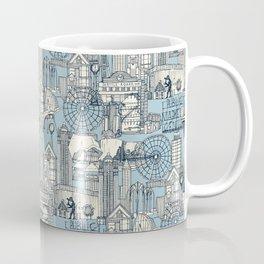 Seattle indigo pale chambray Coffee Mug