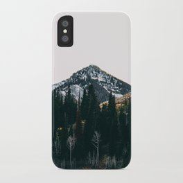 Winter On Its Way iPhone Case