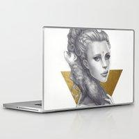 ferret Laptop & iPad Skins featuring Ferret by Bea González