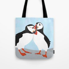 Puffin love you Tote Bag