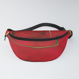 Detached, Abstract Shapes Art Fanny Pack