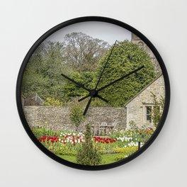 English Garden. Wall Clock