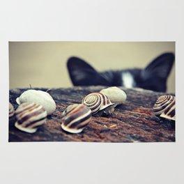 Cat Snails Rug