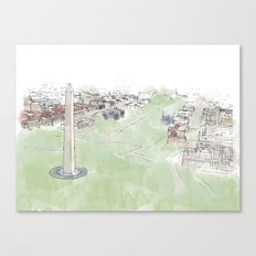 Monument Canvas Print