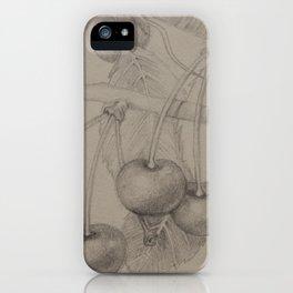 Cherries iPhone Case