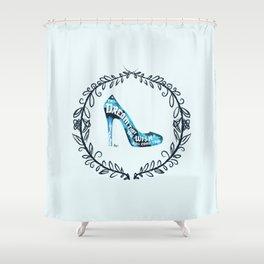 Cinderella' slipper Shower Curtain