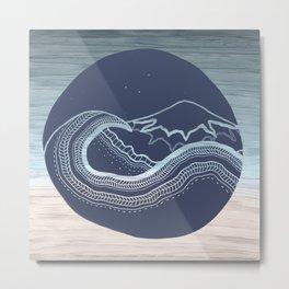 Ocean II Metal Print