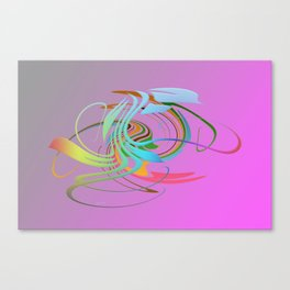 Power and positive energy, 16 Canvas Print