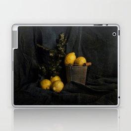 Cassic still life with lemons Laptop & iPad Skin