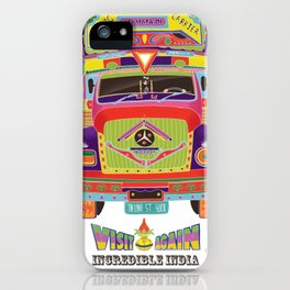 Indian Truck Art iPhone Case