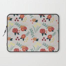 Vintage Floral Pattern Laptop Sleeve