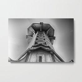 Lighthouse Lake Geneva Metal Print