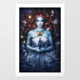 Strange the Dreamer Art Print