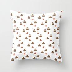 TOASTER PATTERN Throw Pillow