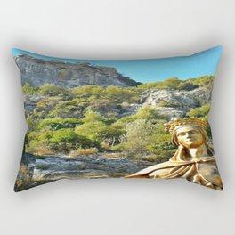 Statue of the Virgin Mary, Ephesus, Turkey Rectangular Pillow