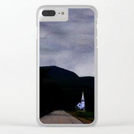 Chocorua Chapel Mindscape Clear iPhone Case