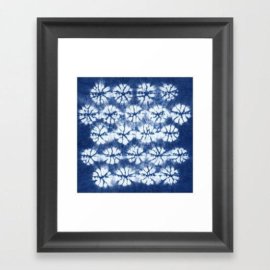 Shibori two Framed Art Print