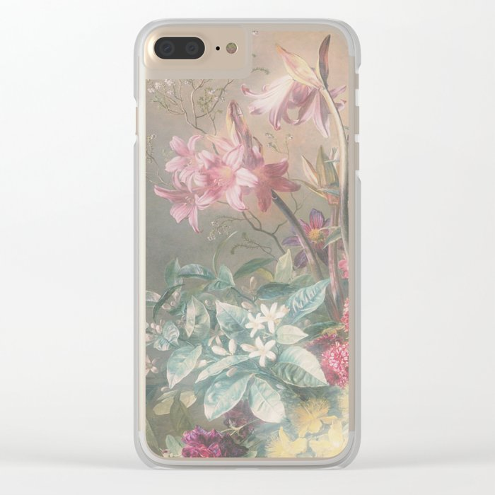 Misty Jungle Dusk Clear iPhone Case